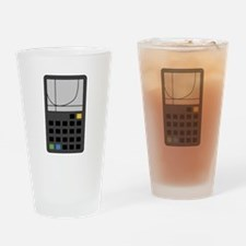 Graphing Calculator Drinking Glass