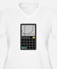 Graphing Calculator Plus Size T-Shirt