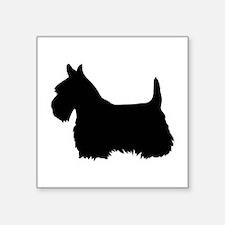 scottish terrier 1C Sticker