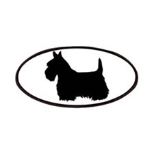 scottish terrier 1C Patches