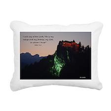 Psalm 91:2 Rectangular Canvas Pillow