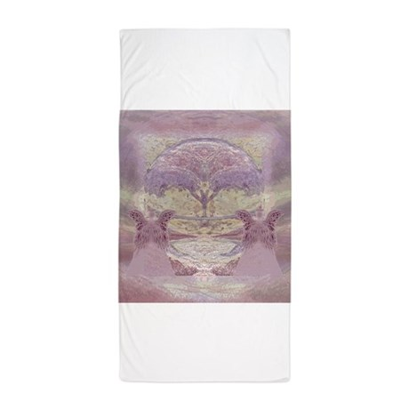 Peace And Tranquility Beach Towel By Thetreeoflifeshop