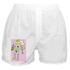 Hen Do Girl Boxer Shorts