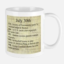 July 30th Mugs