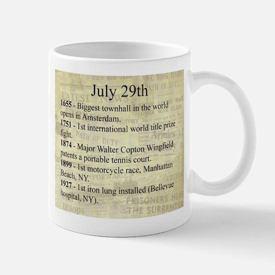July 29th Mugs