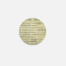 July 28th Mini Button