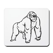 Gorilla Drawing Mousepad