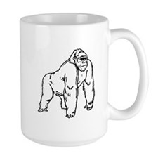 Gorilla Drawing Mugs