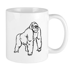 Gorilla Drawing Mugs