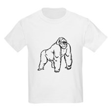 Gorilla Drawing T-Shirt
