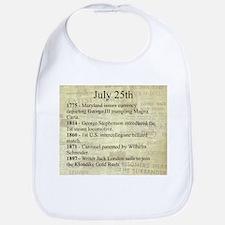 July 25th Bib