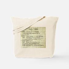 July 24th Tote Bag