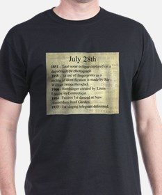 July 28th T-Shirt