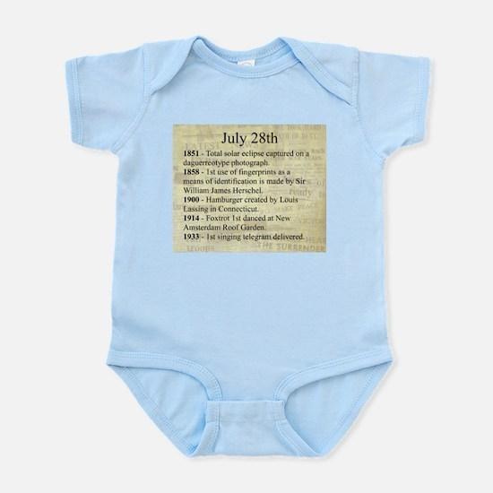 July 28th Infant Bodysuit