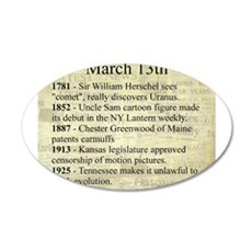 March 13th Wall Decal