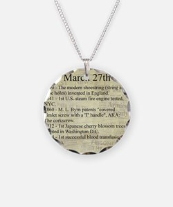 March 27th Necklace