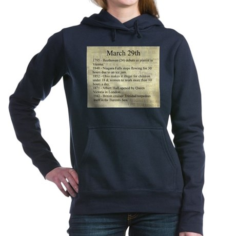 March 29th Hooded Sweatshirt