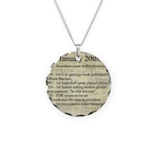 January 20th Necklace