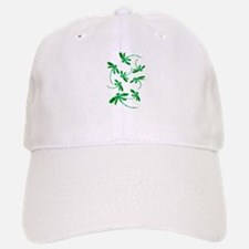 Dragonflies Neon Green Baseball Baseball Cap