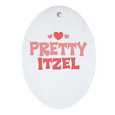 Itzel Oval Ornament