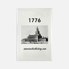 ABH Timeline 1776 Rectangle Magnet (10 pack)