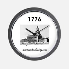ABH Timeline 1776 Wall Clock