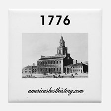 ABH Timeline 1776 Tile Coaster