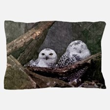 Two Owls Pillow Case