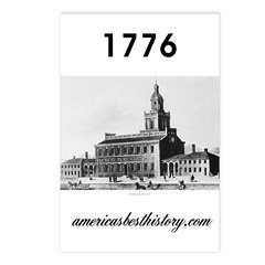 ABH Timeline 1776 Postcards (Package of 8)
