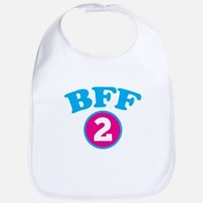 BFF 2 BEST FRIEND Bib