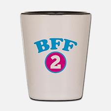 BFF 2 BEST FRIEND Shot Glass