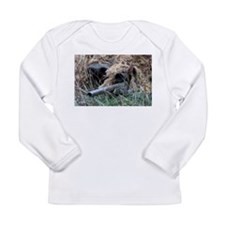Reach out and touch someone! Long Sleeve Infant T-