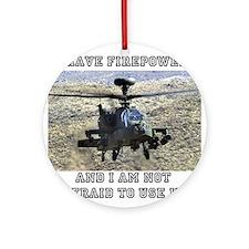 Airpower! Ornament (Round)
