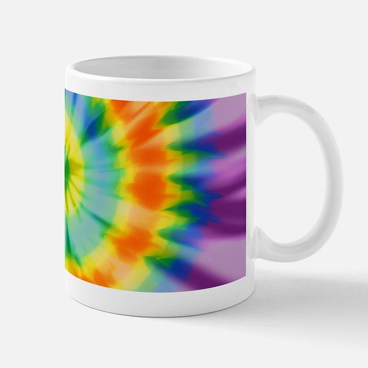 Printed Tie Dye Pattern Mugs