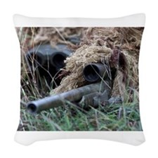 Reach out and touch someone! Woven Throw Pillow