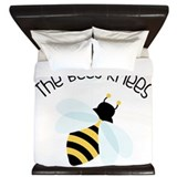 The bees knees Luxe King Duvet Cover