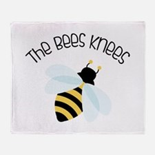 The Bees Knees Throw Blanket
