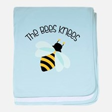 The Bees Knees baby blanket