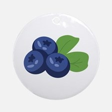 Blueberry Ornament (Round)