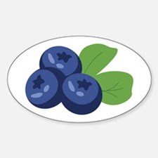 Blueberry Decal