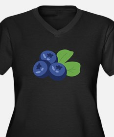 Blueberry Plus Size T-Shirt