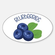 BLUEBERRIES Decal