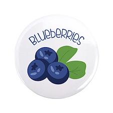 "BLUEBERRIES 3.5"" Button"