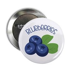 "BLUEBERRIES 2.25"" Button (10 pack)"