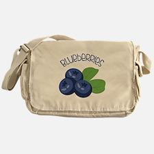 BLUEBERRIES Messenger Bag