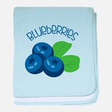 BLUEBERRIES baby blanket