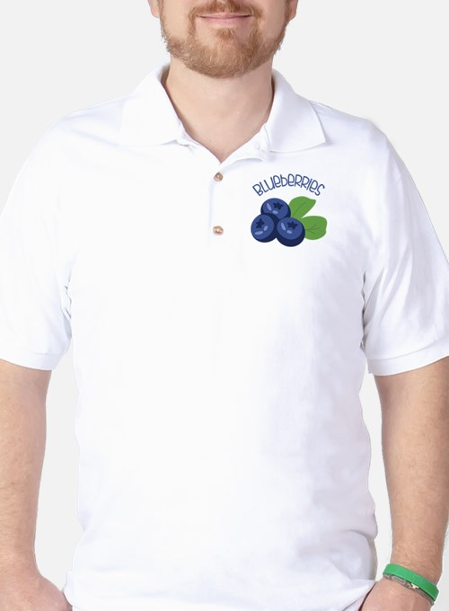 BLUEBERRIES Golf Shirt