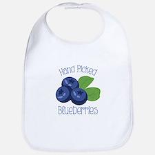 Hand Picked Blueberries Bib
