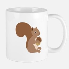 Squirrels Acorn Mugs