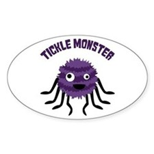 TICKLE MONSTER Stickers